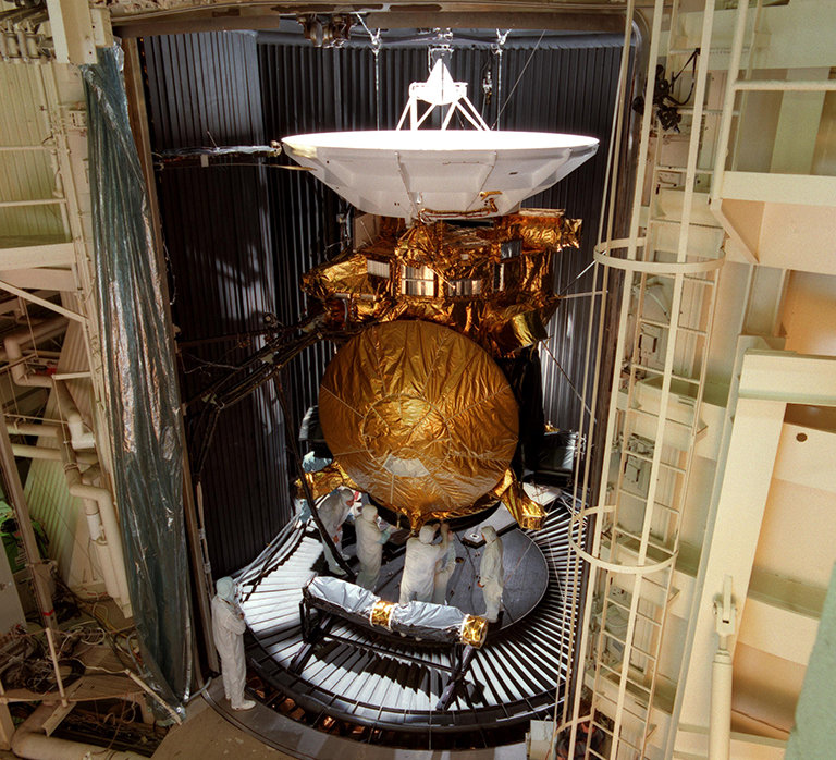 Cassini-Huygens Before Launch