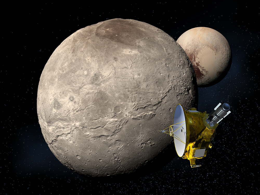 Charon - moon of Pluto