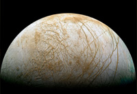 Galileo provided strong evidence that Jupiter's moon Europa contains an ocean of liquid water.