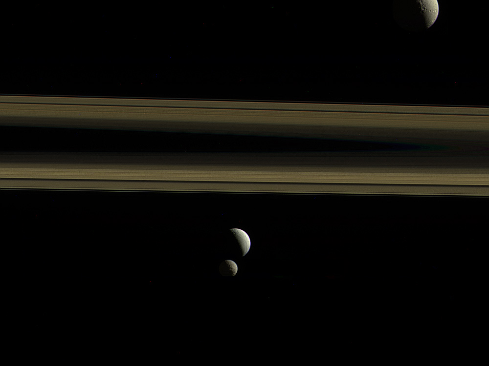 Rings and Moons