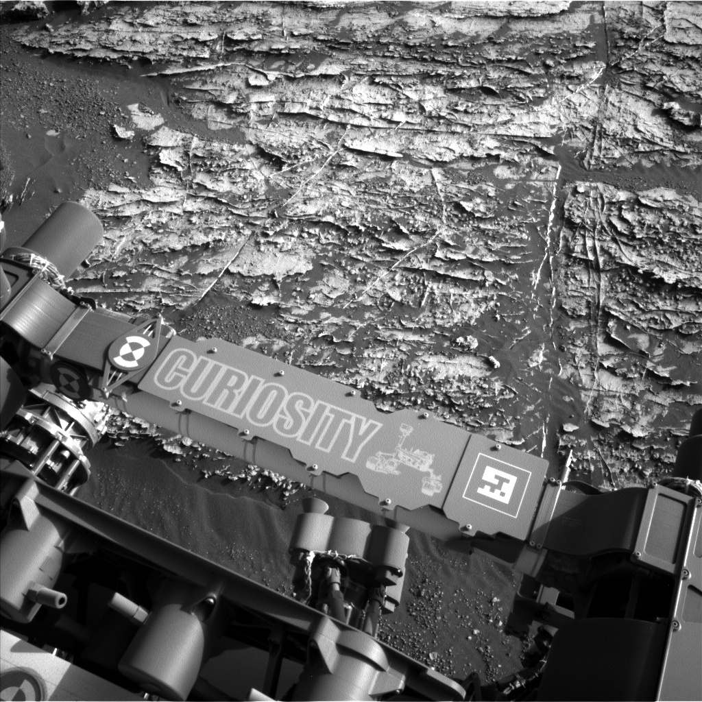 Curiosity Raw Image
