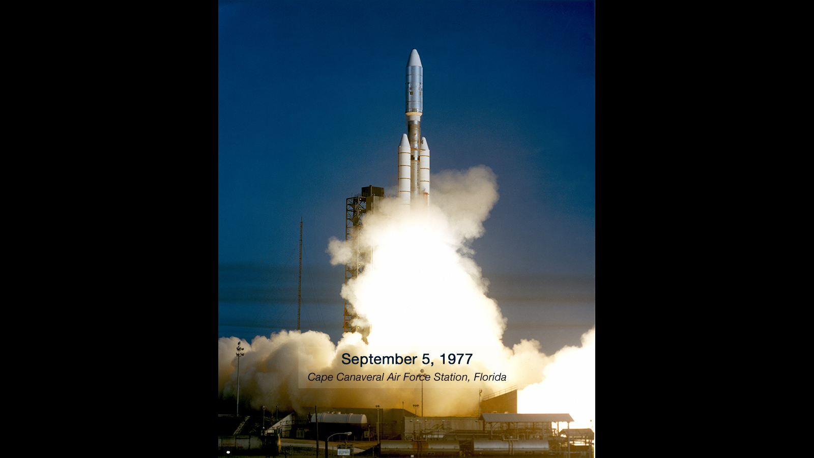 slide 2 - Launch of Voyager 1
