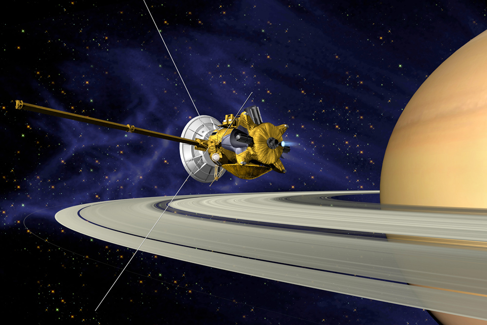 Cassini: Mission to the Saturn system