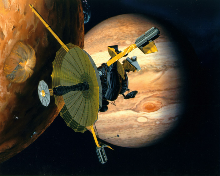 Galileo arrives at Jupiter