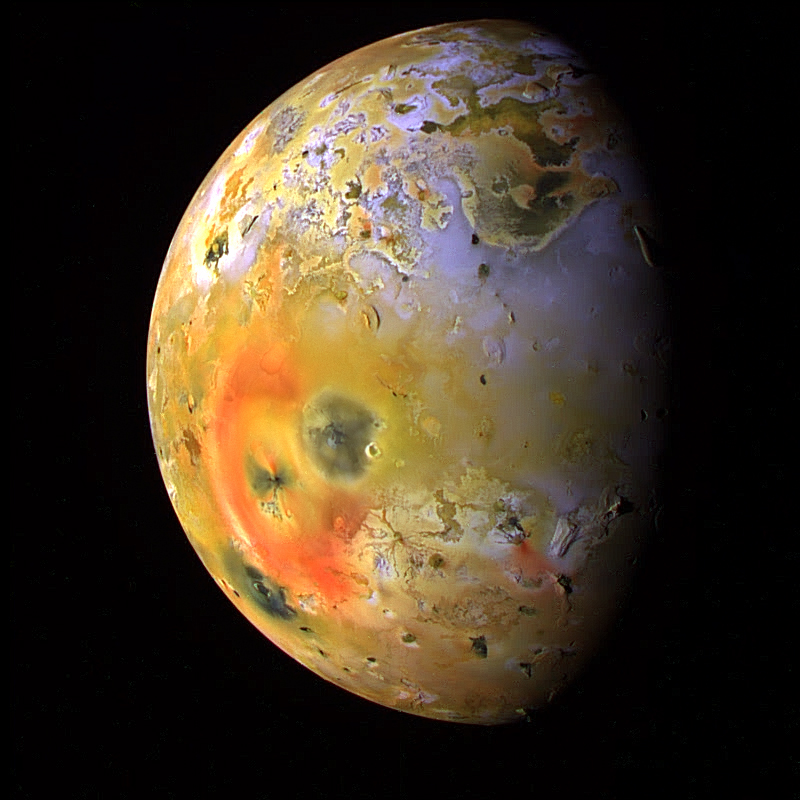 Changing Surface of Io