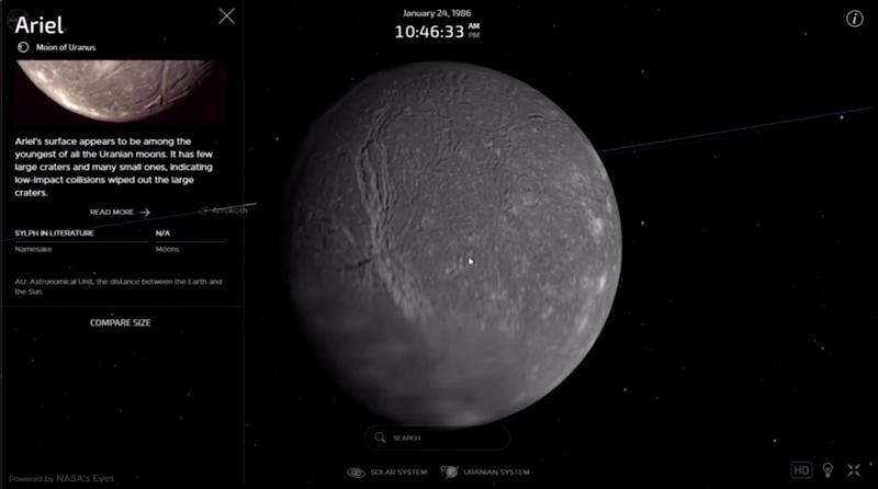 Website: NASA's Eyes on the Solar System
